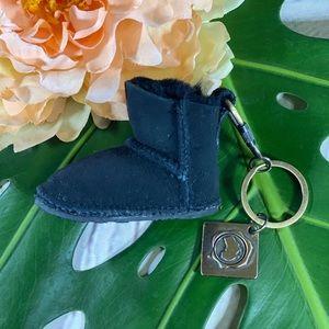 Australia Luxe Felt Boot Keychain